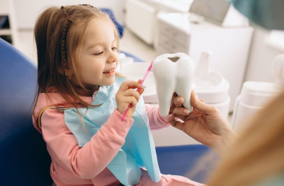 خوف الاطفال من طبيب الاسنان